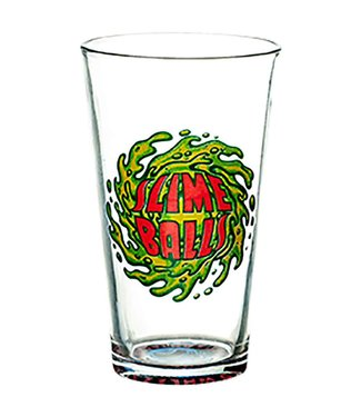 Slime Balls Wheels Pint Glass