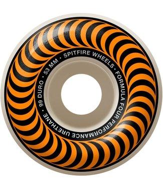 Spitfire Wheels 53mm F4 Classic Swirl 99a Wheels