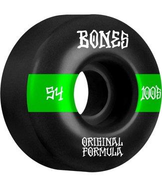 Bones 54mm 100's OG V4 WIDE #14 100a Wheels