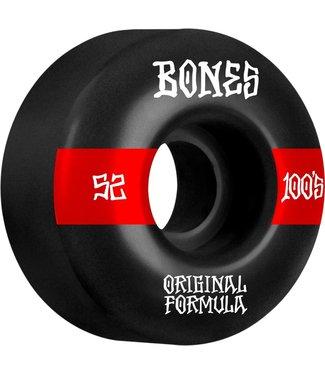 Bones 52mm 100's OG V4 WIDE #14 100a Wheels