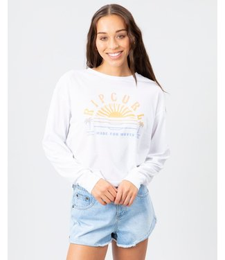 Rip Curl Sunset Sessions Long Sleeve Crop Top