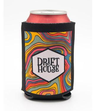 Drift House Trippy Dippy Box Logo Classic Koozie