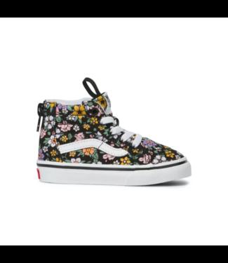 Vans Fun Floral Toddler Sk8-Hi Zip Shoes