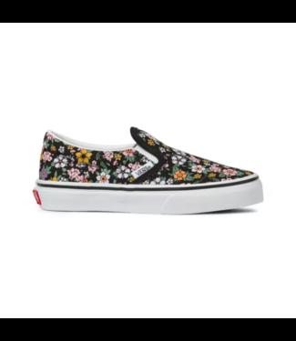 Vans Fun Floral Kids Classic Slip-On Shoes