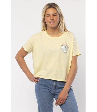 Sisstrevolution Take Care Crop T-Shirt