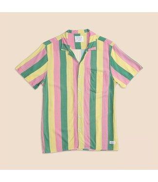 Duvin Design Co. Pastel Stripe Button Up Shirt