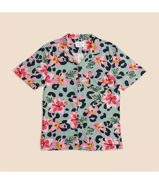 Duvin Design Co. Vintage Floral Button Up Shirt