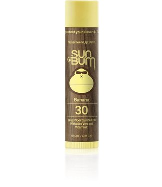 Sun Bum SPF 30 Banana Lip Balm