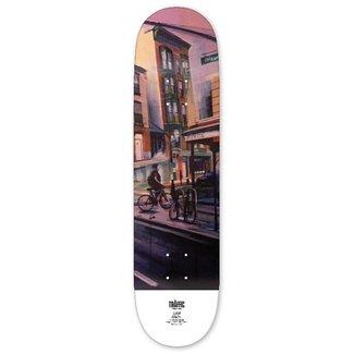 """Traffic Skateboards 8.5"""" Driggs and Manhattan Ave Eind's Deck"""