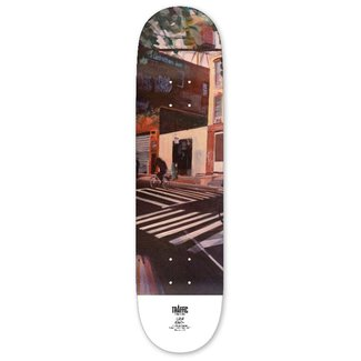 """Traffic Skateboards 8.0"""" Driggs and Manhattan Ave No Name Deck"""