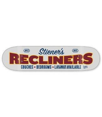 "Traffic Skateboards 8.5"" Storefront Series Stiener's Recliners Deck"