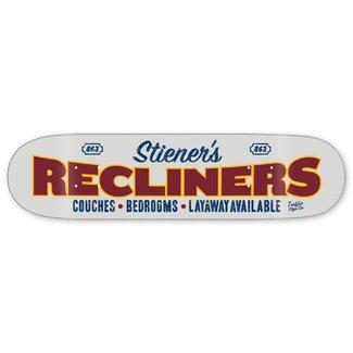 "Traffic Skateboards 8.25"" Storefront Series Stiener's Recliners Deck"