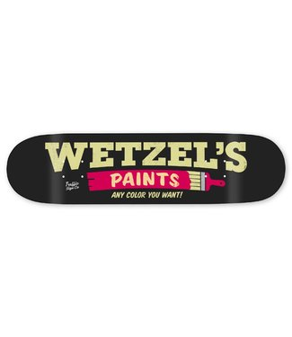 "Traffic Skateboards 8.25"" Storefront Series Wetzel's Paints Deck"