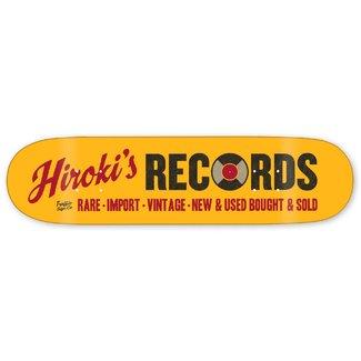 "Traffic Skateboards 8.25"" Storefront Series Hiroki's Records Deck"