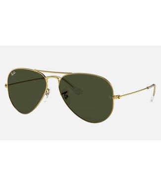 Ray Ban Aviator Classic G-15 Polar Sunglasses