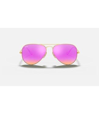 Ray Ban Large Aviator Metal Polar Sunglasses