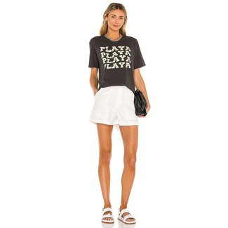 Amuse Society Playa Knit Fitted Tee