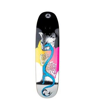 """Welcome Skateboards 8.75"""" Miller Left Eye On Catblood 2 Deck"""
