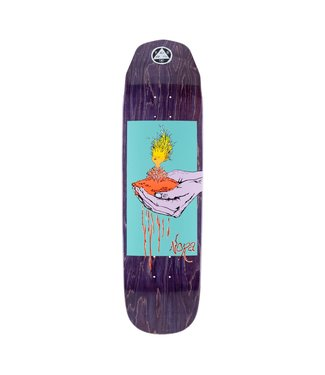 """Welcome Skateboards 8.6"""" Nora Soil On Wicked Queen Deck"""