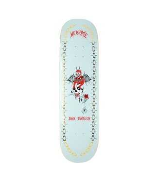 """Welcome Skateboards 8.5"""" Townley Angel On Enenra Deck"""