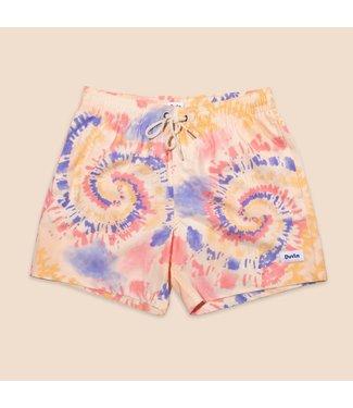 Duvin Design Co. Tie Dye Swirl Swim Short