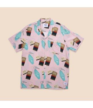 Duvin Design Co. Motel Flamingo Button Up Shirt