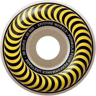 Spitfire Wheels 55mm F4 Classic Swirl 99a Wheels