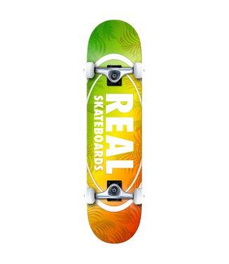 "REAL 7.75""Island Oval Complete Skateboard"
