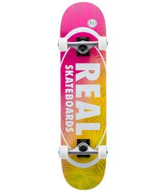 "REAL 7.5"" Island Oval Complete Skateboard"