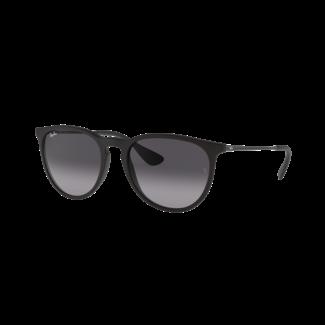 Ray Ban Erika Rubber Black Sunglasses