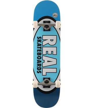 """REAL 8.0"""" Team Edition Oval Complete Skateboard"""