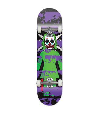 """Girl 7.87"""" Capaldi Clown Pirate Complete Skateboard"""
