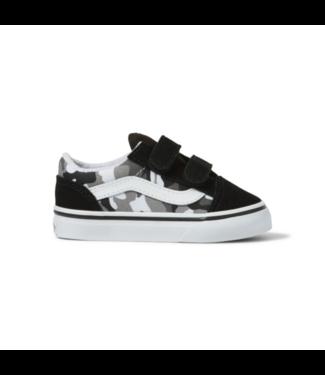 Vans Toddler Primary Camo Old Skool V Shoes