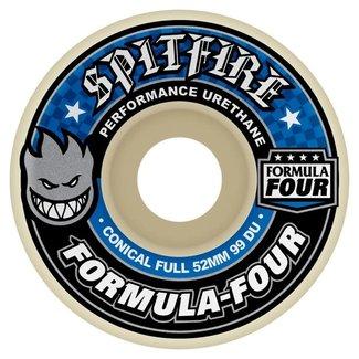 Spitfire Wheels 52mm F4 Conical Full 99a Wheels
