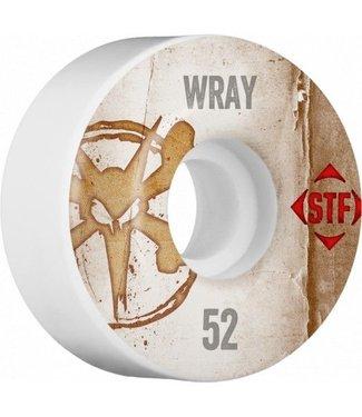 Bones 100's STF Pro Wray 52mm Skate Wheels