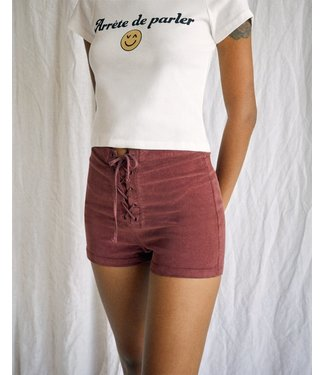 RVCA Camille Rowe Corduroy Shorts