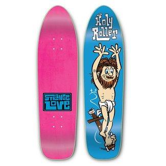 """StrangeLove Skateboards 8.5"""" Holy Roller Cruiser Deck"""