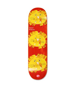 "Hopps Skateboards 8.25"" Williams 3 Lions Deck"