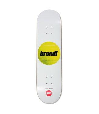 """Hopps Skateboards 8.0"""" Brandi Tennis Ball Deck"""