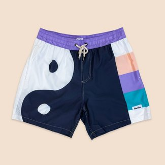 Duvin Design Co. Yin Yang Split Swim Short
