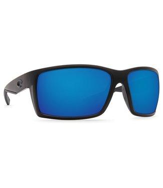 Costa Del Mar Reefton Blackout 580G Blue Mirror Sunglasses