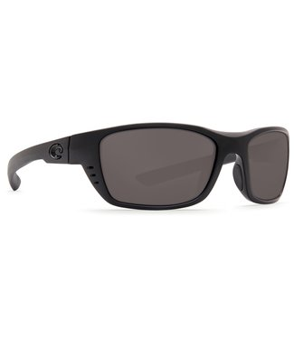 Costa Del Mar Whitetip Blackout 580P Grey Mirror Lens Sunglasses