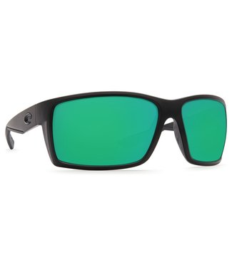 Costa Del Mar Reefton Blackout Green Mirror 580G Sunglasses