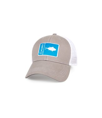 Costa Del Mar Original Patch Gray Tuna Hat