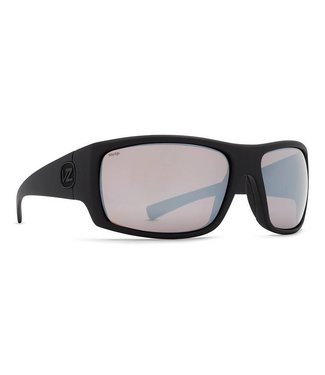 Vonzipper Suplex Black Satin with Wild Rose Chrome Polar Lens Sunglasses