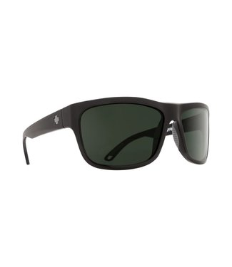 Spy Optic Angler Matte Black Happy Gray Green Lens Polarized