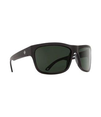 Spy Optic Angler Matte Black Happy Gray Green Lens Polarized