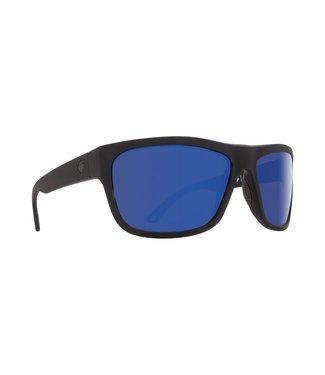 Spy Optic Angler Soft Matte Black Dark Blue Spectra Lens Polarized