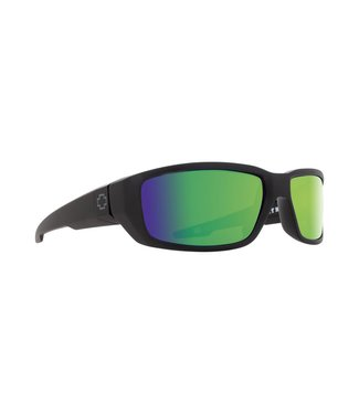 Spy Optic Dirty Mo Matte Black Bronze Green Spectra Polarized