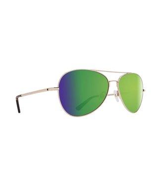 Spy Optic Whistler Gold Gloss Happy Bronze Green Spectra Lens